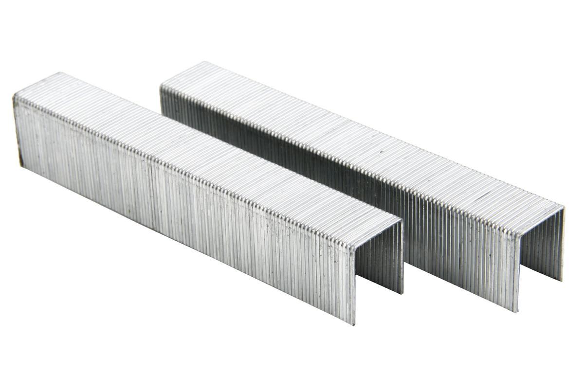 Скобы для степлера Hammerflex, П-образные, тип 53, 14 мм х 11,3 мм х 0,75 мм, 1000 шт34941Скобы Hammerflex предназначены для использования с электрическим степлером Hammerflex SET8. Выполнены из высококачественной стали. Имеют П-образную форму. В комплекте 1000 скоб. Тип скоб: 53. Высота скоб: 14 мм. Ширина скоб: 11,3 мм. Толщина скоб: 0,75 мм.