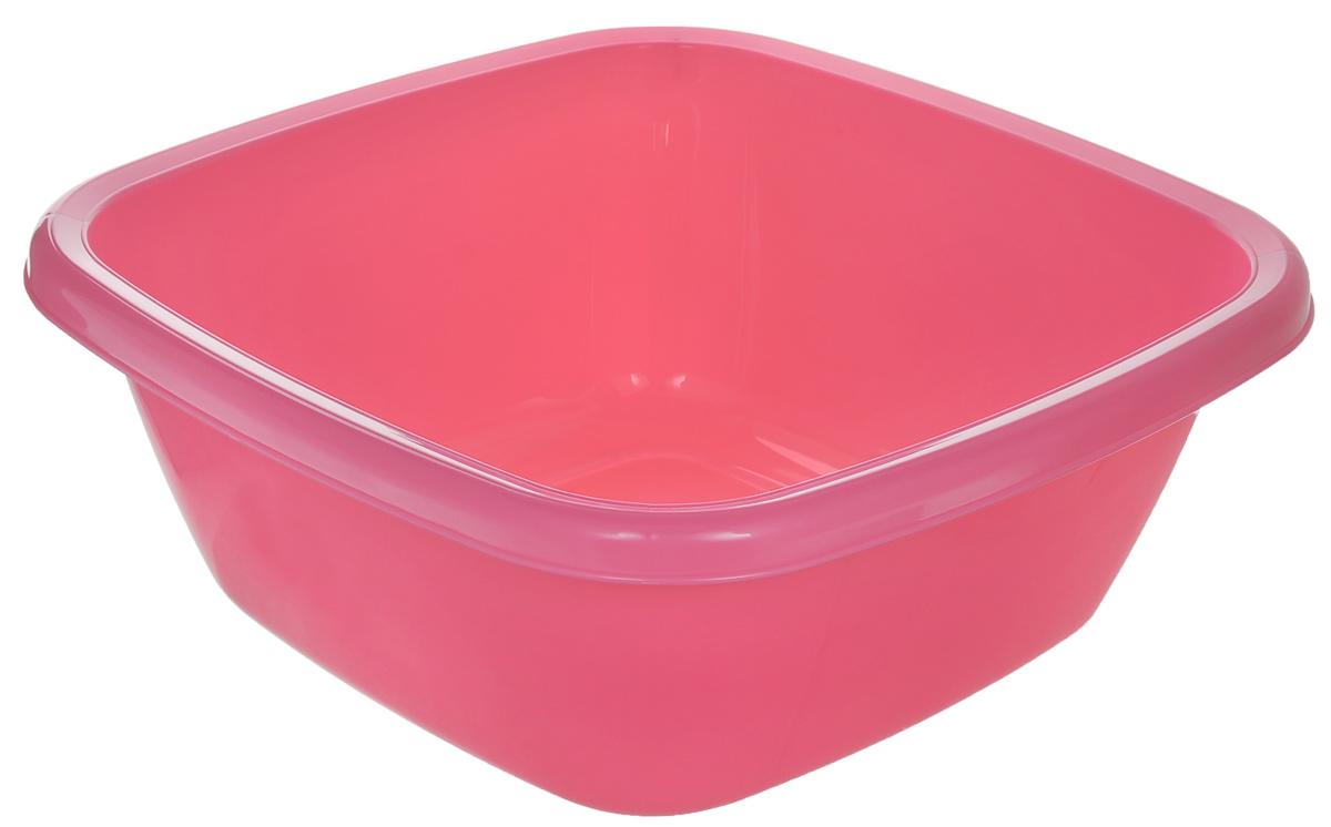 Таз Dunya Plastik, цвет: розовый, 6 л. 1011710117_розовыйКвадратный таз Dunya Plastik выполнен из прочного пластика. Он предназначен для стирки и хранения разных вещей. По краю имеются углубления, которые обеспечивают удобный захват. Такой таз пригодится в любом хозяйстве.