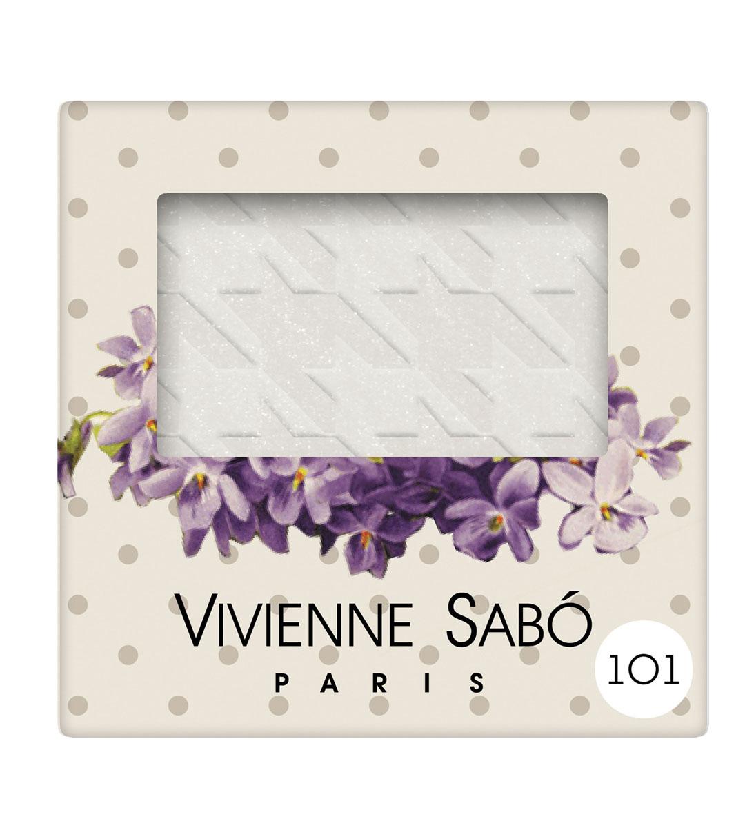 Vivienne Sabo Тени для век мерцающие Rue de Rivoli, тон 101, 3 гd215006101Тени Vivienne Sabo с мерцающими блестками – этот эффект стал возможен благодаря натуральному серебру в составе. Текстура теней, повторяющая знаменитый узор «пье-де-пуль», введенный в моду Коко Шанель – напоминание о том, что улица Риволи – прекрасное место для шоппинга. Они идеальны как для несложного макияжа в один тон, так и для техники smoky eyes – модной и стильной.