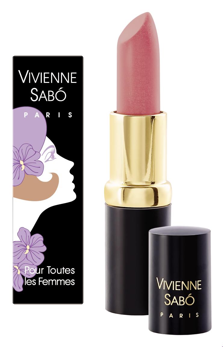 Vivienne Sabo Губная помада увлажняющая Charme de Vous, тон 206, 4гD215008206