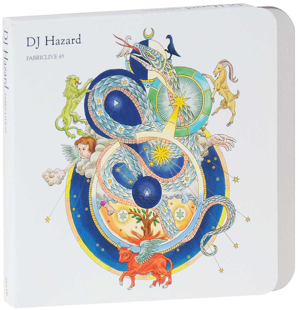 Dj Hazard. Fabriclive 65 2012 Audio CD
