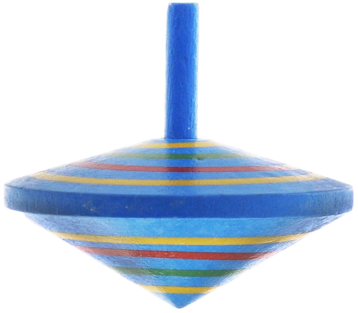 Mapacha Волчок Спиралька, цвет: синий76417_синийВолчок Спиралька динамическая игрушка, которая знакомит ребенка с физическими понятиями равновесия и движения. Выполнена из качественной древесины. У него тонкая удобная ручка и небольшой вес. Играя с волчком, ребенок развивает внимательность, учится правильно рассчитывать силу и точность движения пальцев и кисти.