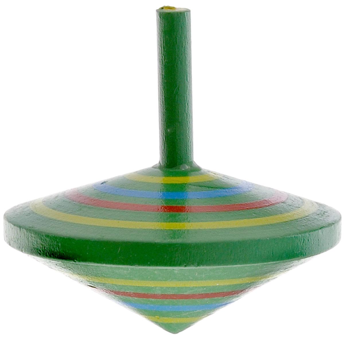 Mapacha Волчок Спиралька цвет зеленый76417_зеленыйВолчок Спиралька динамическая игрушка, которая знакомит ребенка с физическими понятиями равновесия и движения. Выполнена из качественной древесины. У него тонкая удобная ручка и небольшой вес. Играя с волчком, ребенок развивает внимательность, учится правильно рассчитывать силу и точность движения пальцев и кисти.