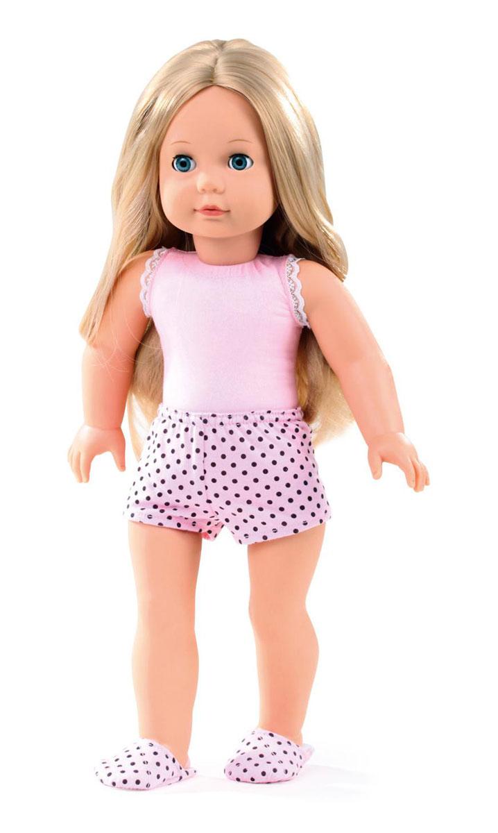 Gotz Кукла Джессика блондинка1490365Очаровательная кукла Елизавета станет замечательным подарком для каждой девочки, а также опытных коллекционеров. С необычной куклой, которая так похожа на настоящую девочку, можно проводить много времени вместе, придумывая увлекательные сюжеты для игр. Кукла Gotz с виниловым подвижным телом подходит для активных игр дома и на улице. У игрушки светлые, густые волосы, которые позволяют делать прически, расчесывать и мыть ей голову. Елизавета приготовилась ко сну, она одета в розовую маечку, шортики и мягкие тапочки. Реалистичные черты лица и большие глазки с ресницами позволяют ребенку погрузиться в атмосферу игр по настоящему сценарию, повторять сюжеты из жизни и заботиться о маленькой девочке.