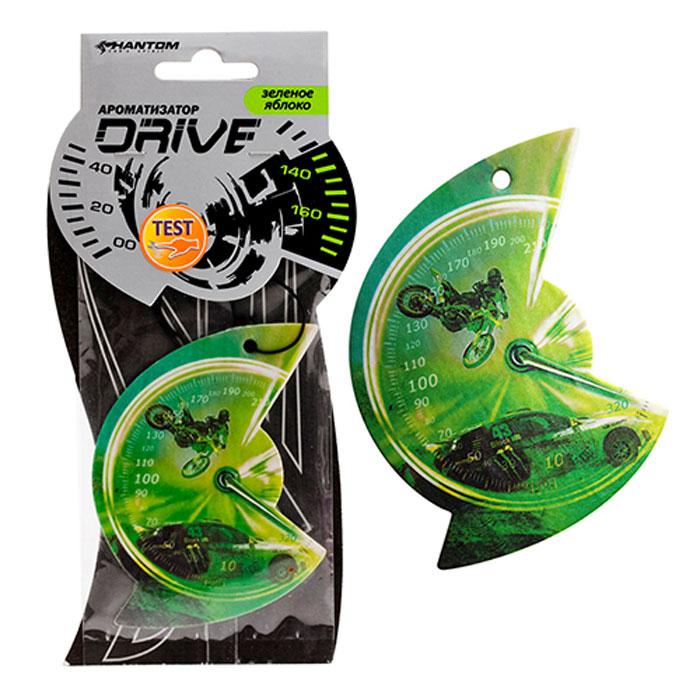 """Ароматизатор Drive """"Зеленое яблоко"""", цвет: зеленый, Phantom"""