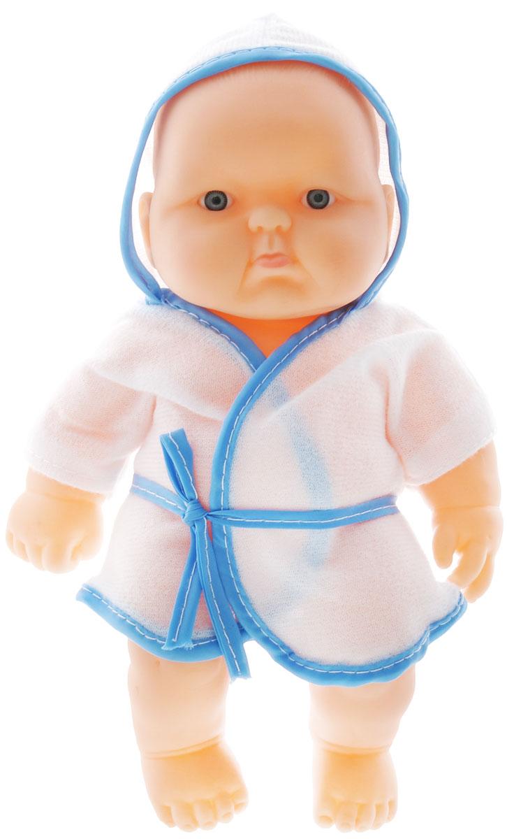 Joy Toy Пупс Дружная Семейка белый голубойG183-H43030_бело-голубойПупс Joy Toy Дружная Семейка порадует вашу малышку и доставит ей много удовольствия от часов, посвященных игре с ним. Пупс выглядит как настоящий малыш. Он одет в халатик с капюшоном. Голова, ручки и ножки подвижны, что позволяет придавать ему разнообразные позы. Малыш имеет очаровательные черты лица: маленький рот и носик, широко раскрытые глазки. Игра с куклой разовьет в вашей малышке чувство ответственности и заботы. Порадуйте свою принцессу таким великолепным подарком!
