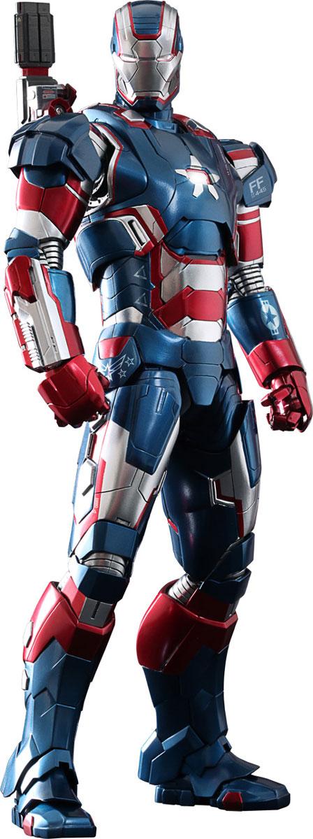 Железный человек 3. Фигурка Железный патриот Diecast