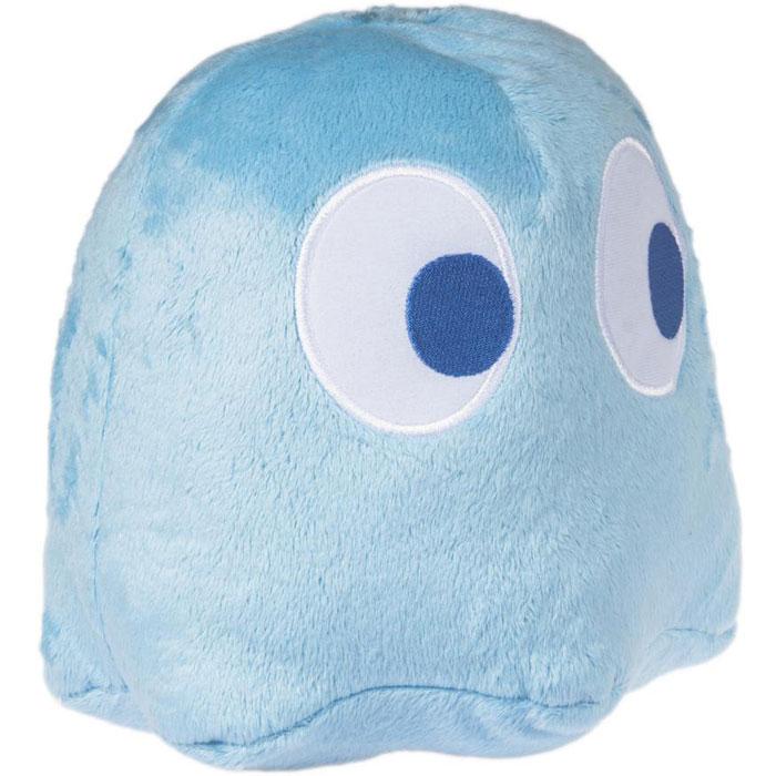 Пакман. Плюшевая фигурка Синее привидение со звуком, 20 см