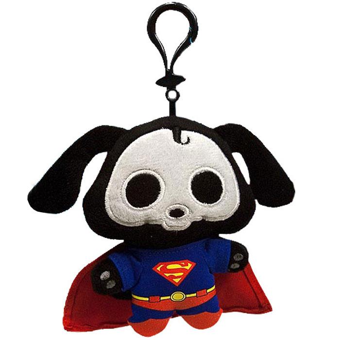 Cкелэнималс. Плюшевый брелок фигурка Дакс Супермен
