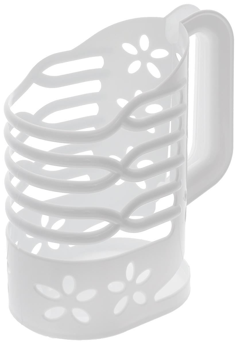 Держатель для молока Альтернатива, цвет: белый, 1 лМ1667Держатель для молока Альтернатива изготовлен из высококачественного прочного пластика. Изделие предназначено для хранения пакета с молоком, кефиром и другими напитками. Держатель способен подстраиваться под размер пакета и снабжен удобной ручкой. Держатель для молока Альтернатива станет незаменимым аксессуаром на любой современной кухне. Предназначен для молочных пакетов объемом: 1 л.