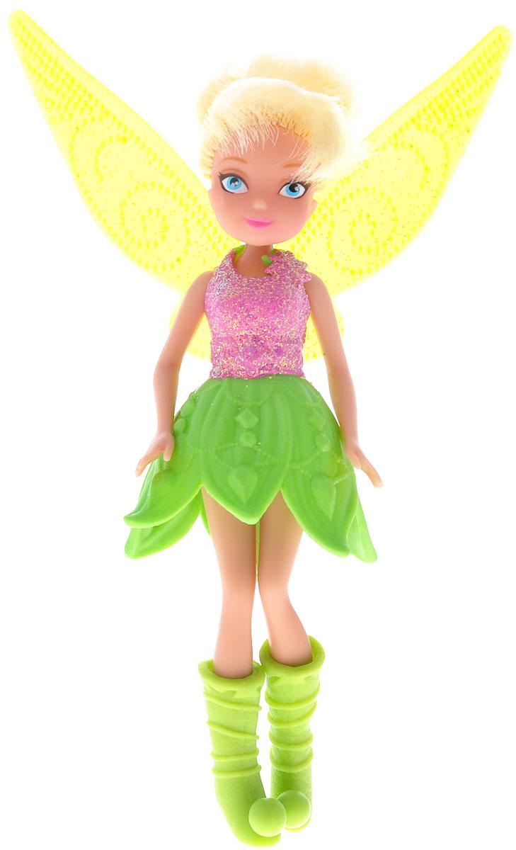 Disney Fairies Игровой набор Jinks Blink Boutique, с куклой762660Игровой набор Disney Fairies Jinks Blink Boutique порадует любую девочку и обязательно станет ее любимой игрушкой. В комплект входит куколка-фея и ее наряды. Кукла выполнена из прочного пластика. У нее короткие светлые волосы. Куколка одета в сверкающее платье феи. Также в комплект входят дополнительные наряды - всевозможные платья, высокие сапожки и различные сумочки. Завершают сказочный образ полупрозрачные крылья феи. Голова, ручки и ножки куклы подвижны. Игры с куклой способствуют эмоциональному развитию ребенка, а также помогают формировать воображение и художественный вкус. Малышка проведет множество счастливых часов, играя с очаровательной феей. Великолепное качество исполнения делают эту игрушку чудесным подарком к любому празднику.