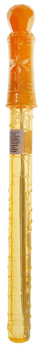 Веселая затея Мыльные пузыри Гигант Волшебная палочка цвет желтый 1504-0280