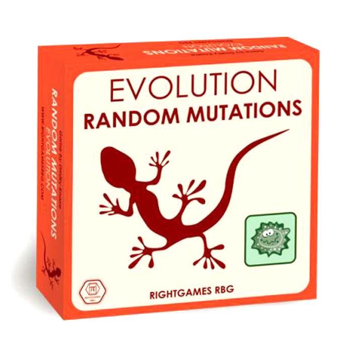 Правильные игры Настольная игра Эволюция Случайные мутации13-02-05Случайные мутации - это не замена оригинальной Эволюции и не дополнение к ней, а отдельная настольная игра. И еще больше. На английском языке! Она унаследовала от своей предшественницы многие элементы, поэтому тем, кто знаком с обычной Эволюцией, будет несложно освоить и Случайные мутации. Более того, многие свойства из первой игры и её дополнений можно использовать и в новинке - список таких карт есть в конце правил. В Случайных мутациях 90 карт, на рубашке которых изображена фирменная эволюционная ящерица, а на лицевой стороне указано одно из 16 возможных свойств, например Хищник, Короед или Почкование. Как и в обычной Эволюции, каждую карту можно разыграть двумя способами: либо рубашкой вверх, как животное, либо в открытую как свойство. Кроме того, в комплекте игры 52 фишки красного, синего, зелёного и чёрного цветов, а также красный, зелёный и чёрный кубики. Базовый набор рассчитан на 2–4 участников, но если объединить пару коробок, то...
