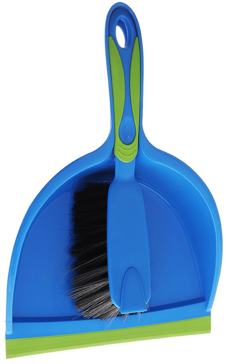 Набор для уборки Rival, цвет: синий, зеленый, 2 предмета3K6707_синий с зеленымНабор для уборки Rival состоит из совка и щетки, изготовленных из высококачественного полипропилена. Вместительный совок удерживает собранный мусор и позволяет эффективно и быстро совершать уборку в любом помещении. Прорезиненный край совка обеспечивает наиболее плотное прилегание к полу. Щетка имеет удобную форму, позволяющая вымести мусор даже из труднодоступных мест. Совок и щетки оснащены ручками с отверстиями для подвешивания. С набором Rival уборка станет легче и приятнее. Материал: полимекс, полипропилен, резина. Общая длина щетки: 28 см. Размер рабочей части щетки: 12 см х 7 см х 6 см. Длина совка: 33 см. Размер рабочей части совка: 22 см х 17 см х 6 см.