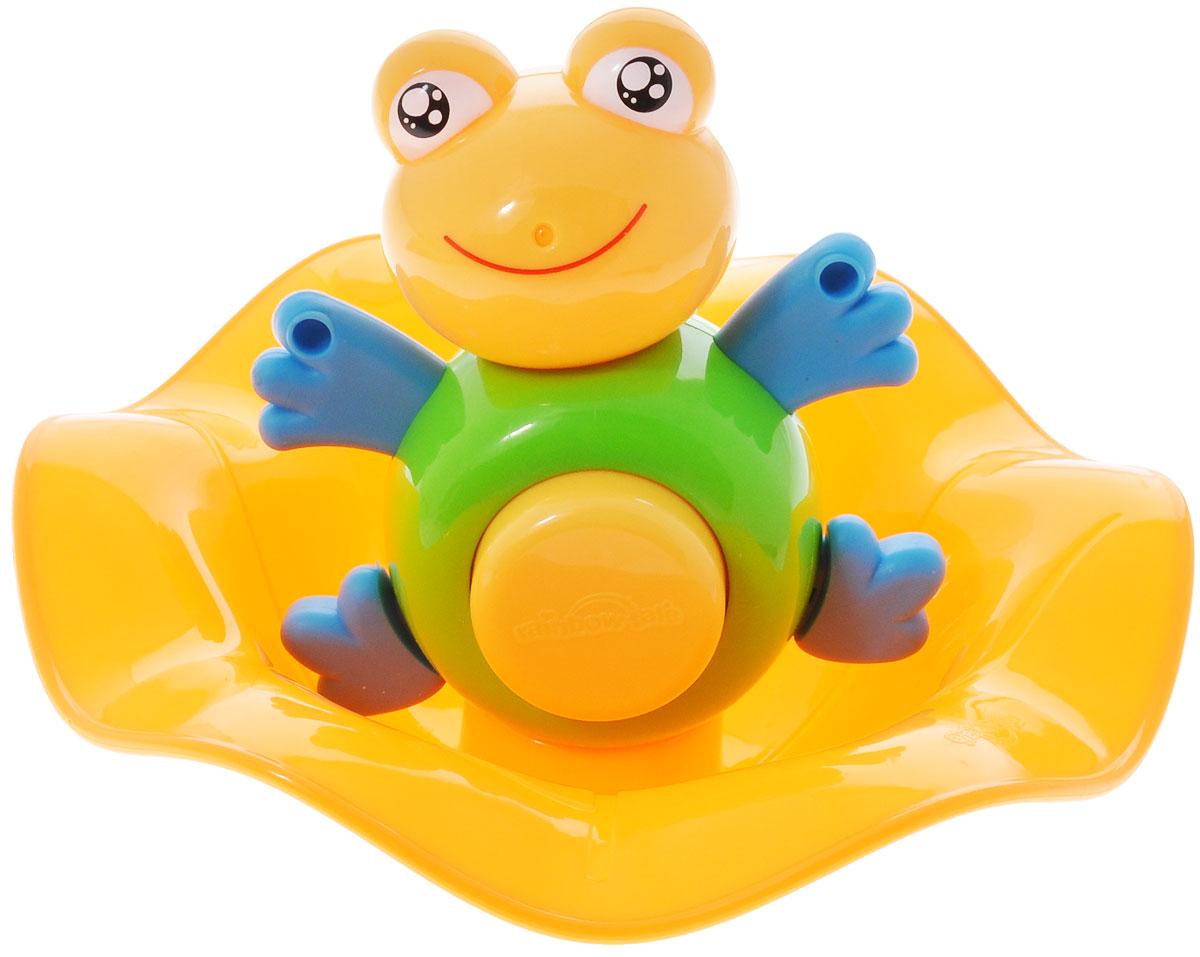 Игрушка для ванной Малышарики Лягушонок Квак, цвет: зеленый4680213033369Превратите купание в увлекательное приключение с забавной игрушкой Лягушонок Квак. Игрушка развивает мелкую моторику и логическое мышление малыша, а так же воображение и творческие способности. Выполнена в ярком дизайне и из безопасных материалов. Игрушка идеальна для развития координации движений малыша, зрительных способностей и воображения.