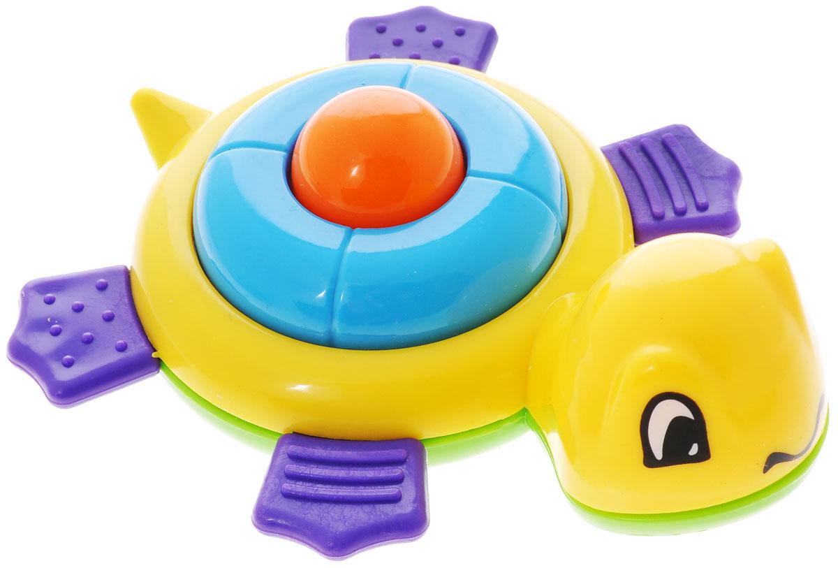 Развивающая игрушка-погремушка Mioshi Черепашка, цвет: желтыйTY9042Яркая развивающая игрушка-погремушка Mioshi Черепашка обязательно понравится вашему малышу. Игрушка выполнена из безопасного пластика в виде черепашки. Эта игрушка создаст очень благоприятное впечатление у ребенка и заинтересует своими звуками. При нажатии на на спинку, черепашка издает легкий писк. Игрушка развивает цветовое и звуковое восприятие, тактильные ощущения и внимательность.