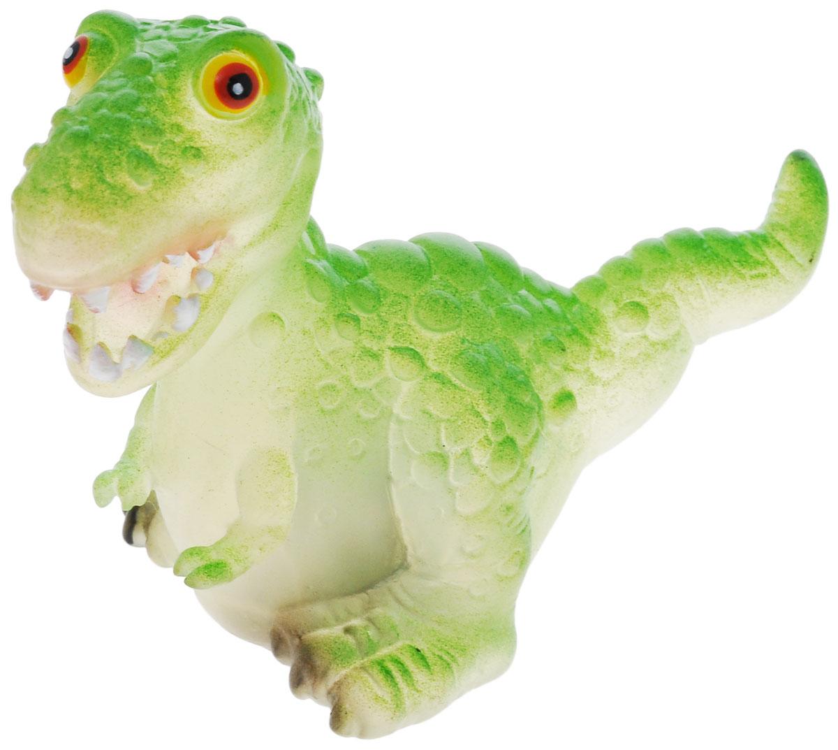 Wing Crown Игрушка Динозавр с подсветкой, цвет: зеленый, 10 см2612C_зеленыйИгрушка Динозавр привлечет внимание Вашего малыша и не позволит ему скучать. Ваш малыш сможет играть с фигуркой и придумывать разные истории, а благодаря компактным размерам он сможет брать динозавра с собой на прогулку или в гости. Игрушка оснащена подсветкой. При замыкании контактов, расположенных в нижней части игрушки, фигурка начинает мигать разноцветными огоньками. Порадуйте его таким замечательным подарком!