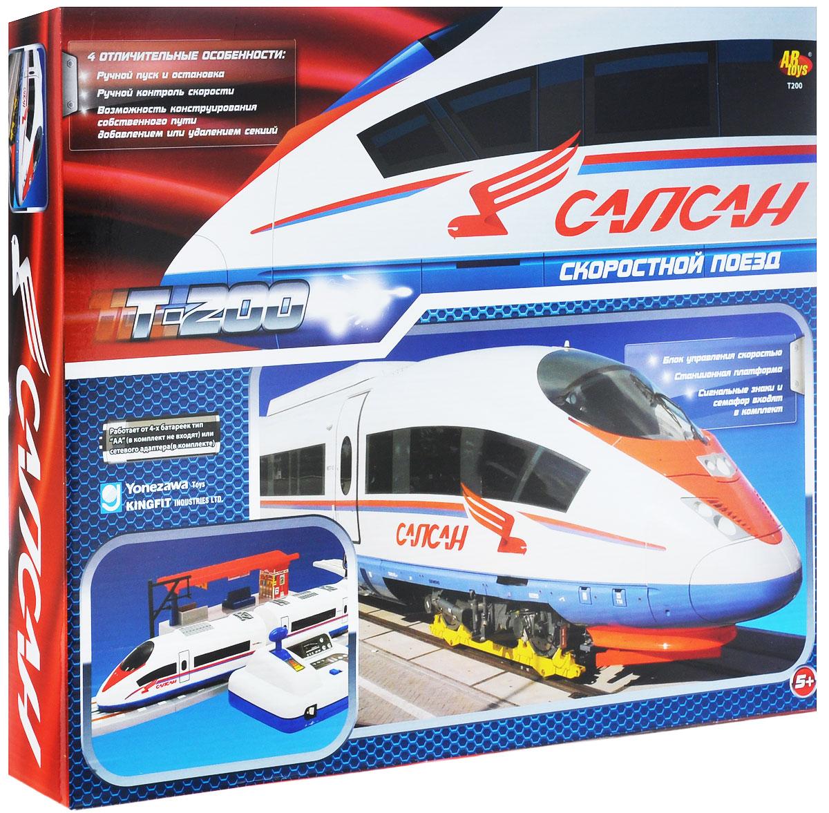 ABtoys Железная дорога Скоростной поезд T-200