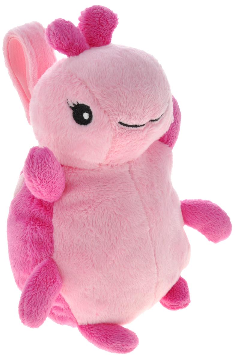 Cloud B Мягкая музыкальная игрушка Божья коровка, цвет: розовый7403-PLB-RUМягкая игрушка Божья коровка станет незаменимым другом вашему малышу. Игрушка выполнена в виде симпатичной мягкой божьей коровки с удобной петелькой-липучкой для подвешивания. Компактная игрушка для спокойного сна ребенка, которую удобно брать с собой. Нежная колыбельная мелодия поможет ребенку уснуть даже вне привычной домашней обстановки. Мелодия начинает играть, как только нажать на левую лапку игрушки. Громкость регулируется. Удобный размер позволяет прикрепить игрушку к коляске, авто-креслу или положить в сумку. Питание от 3 батареек типа ААА (в наборе).