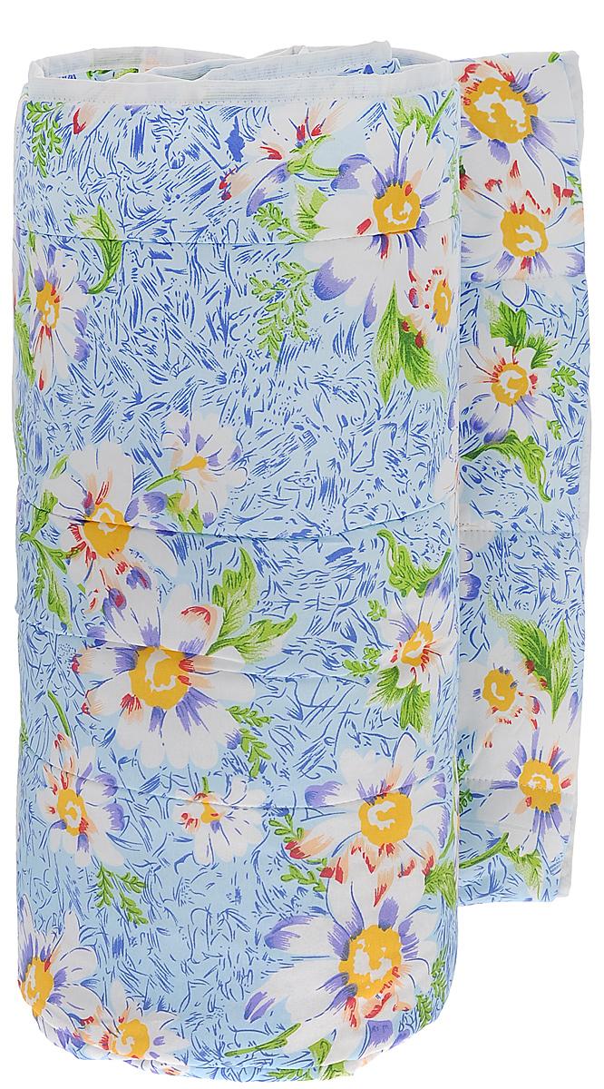 Одеяло всесезонное OL-Tex Miotex, наполнитель: полиэфирное волокно Holfiteks, цвет: голубой с цветами, 172 см х 205 смМХПЭ-18-3_голубой с цветамиВсесезонное одеяло OL-Tex Miotex создаст комфорт и уют во время сна. Стеганый чехол выполнен из полиэстера и оформлен красивым рисунком. Внутри - наполнитель из полиэфирного высокосиликонизированного волокна Holfiteks, упругий и качественный. Холфитекс - современный экологически чистый синтетический материал, изготовленный по новейшим технологиям. Его уникальность заключается в расположении волокон, которые позволяют моментально восстанавливать форму и сохранять ее долгое время. Изделия с использованием Холфитекса очень удобны в эксплуатации - их можно часто стирать без потери потребительских свойств, они быстро высыхают, не впитывают запахов и совершенно гиппоаллергенны. Холфитекс также обеспечивает хорошую терморегуляцию, поэтому изделия с наполнителем из холфитекса очень комфортны в использовании. Одеяло с наполнителем Холфитекс порадует вас в любое время года. Оно комфортно согревает и создает отличный микроклимат. Рекомендации по уходу:...