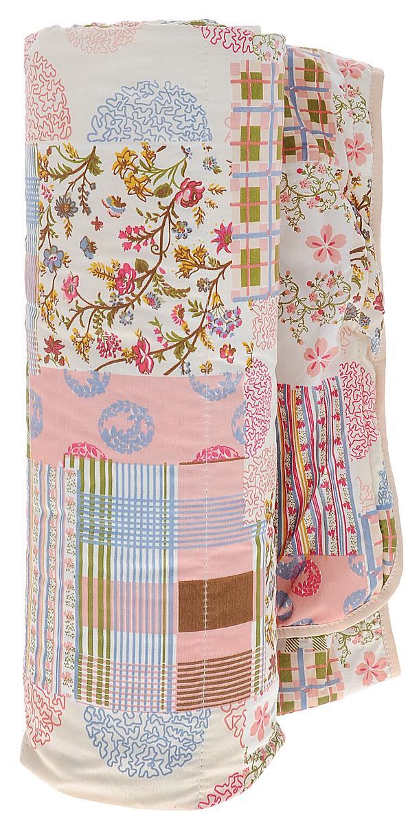 Одеяло летнее OL-Tex Miotex, наполнитель: овечья шерсть, цвет: сливочный, розовый, зеленый, 200 х 220 смМШПЭ-22-1_розовый/зелёный/голубойЛетнее одеяло OL-Tex Miotex создаст комфорт и уют во время сна. Стеганый чехол выполнен из полиэстера и оформлен красочным рисунком. Внутри - наполнитель из натуральной овечьей шерсти. Свойства шерсти уникальны, а шерсть овцы человек с древних времен использует себе на пользу. Шерсть овцы воздухопроницаема, она имеет между ворсинками воздушные пузырьки, что обеспечивает прекрасную терморегуляцию. Овечья шерсть прогревает тело сухим теплом, успокаивает боль, создает атмосферу комфорта. Шерсть помогает бороться со стрессом, обладает успокаивающим эффектом. Летнее одеяло из натуральной овечьей шерсти удобно и комфортно, оно создаст оптимальный микроклимат в постели - в теплое время года под ним не будет ни холодно, ни жарко. Рекомендации по уходу: - Нельзя стирать. - Нельзя отбеливать. - Не гладить. Не применять обработку паром. - Нельзя выжимать и сушить в стиральной машине. Размер одеяла: 200 см х 220 см. ...