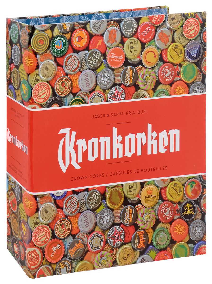 Альбом ALBKRON42/2 для пивных крышек, с листами. Leuchtturm342619Размер альбома 245 х 300 мм. Материал: картон ламинированный. Комплектация: 5 листов и 5 разделителей. На каждом листе размещается 42 крышки.