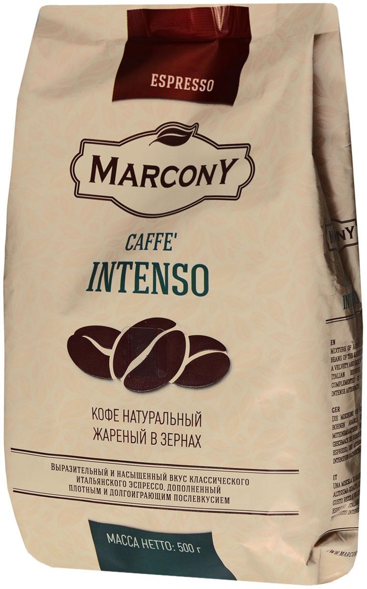Marcony Espresso Caffe Intenso кофе в зернах, 500 г 4602009393365
