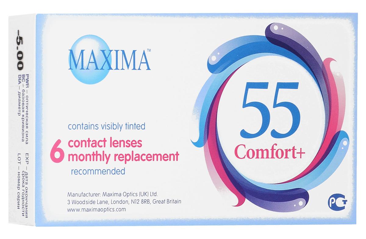 Maxima Optics Maxima ���������� ����� 55 Comfort Plus (6�� / 8.6 / -5.00)