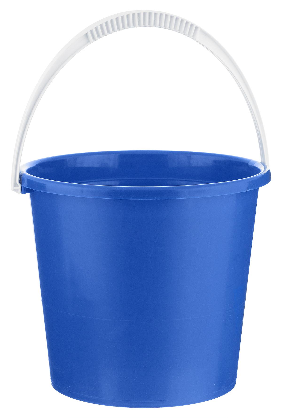 Ведро Альтернатива Крепыш, цвет: синий, 7 лК342_синийВедро Альтернатива Крепыш изготовлено из высококачественного одноцветного пластика. Оно легче железного и не подвержено коррозии. Ведро оснащено удобной пластиковой ручкой. Такое ведро станет незаменимым помощником в хозяйстве. Диаметр: 25 см. Высота: 22 см.