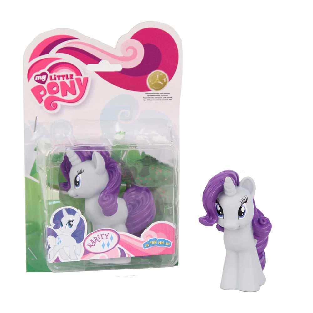 My Little Pony Пластизоль Пони РаритиGT6702Моя Маленькая Пони от Hasbro - это игрушки, созданные по мотивам мультфильма о волшебницах пони и их волшебном мире, где процветают добро и дружба! Маленькие фигурки волшебных пони из мультсериала - настолько миниатюрные, что их можно брать с собой куда захочешь! Каждая фигурка очень точна в исполнении, все детали очень точно прорисованы. Каждая малютка пони украшена фигурными хвостом и гривой. У малышек пони Hasbro много друзей, всех можно купить отдельно. Фигурка Мини-пони Rarity, высотой 9 см, выполненная целиком из пластика.