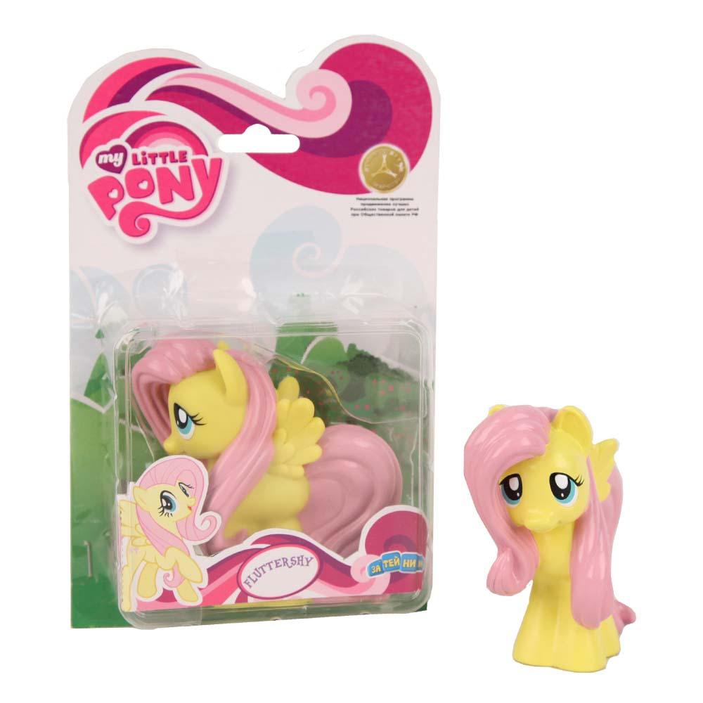 My Little Pony Пластизоль Пони ФлаттершайGT6705Моя Маленькая Пони от Hasbro - это игрушки, созданные по мотивам мультфильма о волшебницах пони и их волшебном мире, где процветают добро и дружба! Маленькие фигурки волшебных пони из мультсериала - настолько миниатюрные, что их можно брать с собой куда захочешь! Каждая фигурка очень точна в исполнении, все детали очень точно прорисованы. Каждая малютка пони украшена фигурными хвостом и гривой. У малышек пони Hasbro много друзей, всех можно купить отдельно. Фигурка Мини-пони Fluttershy высотой 9 см, выполненная целиком из пластика.