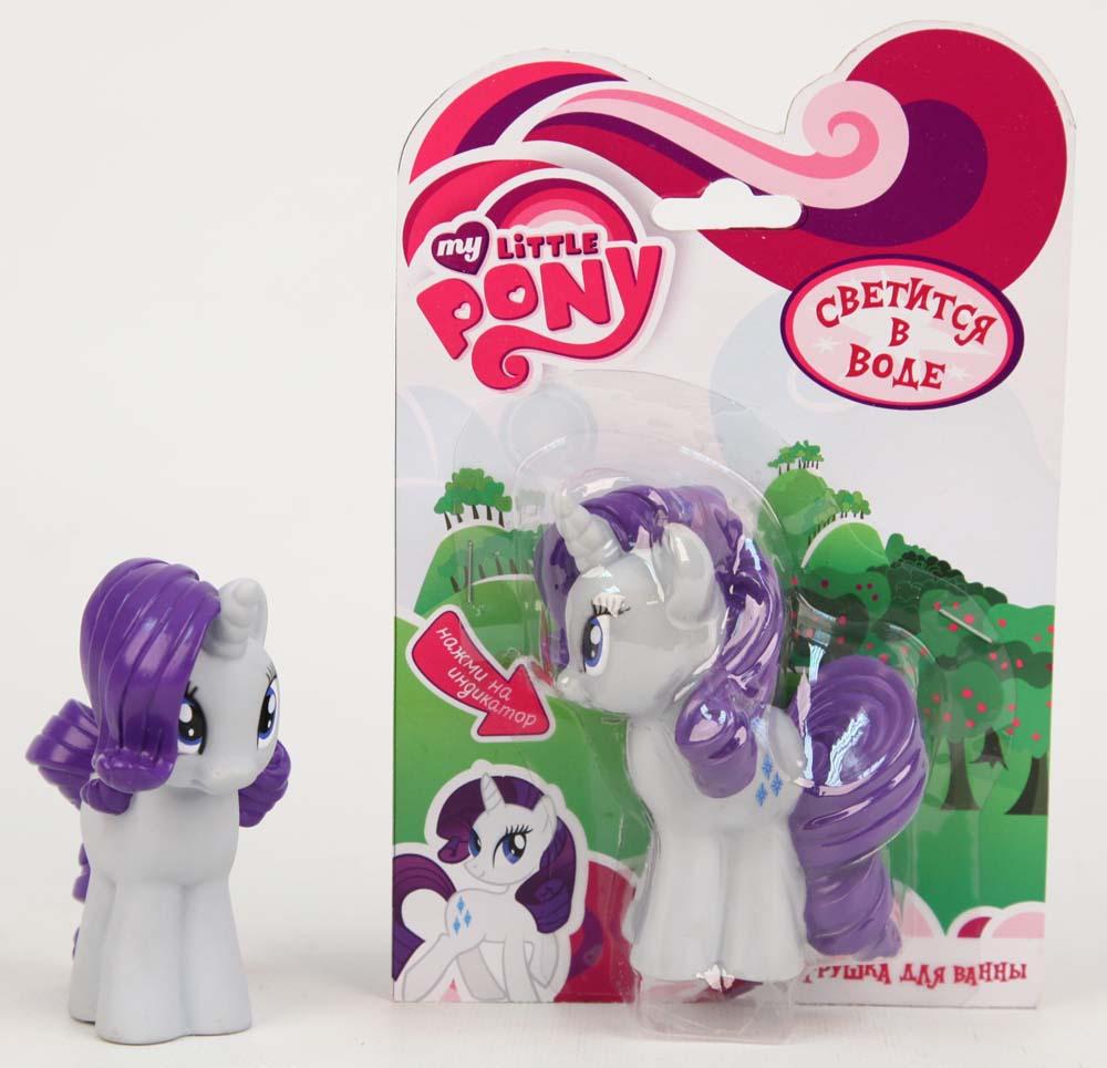 My Little Pony Пластизоль Пони РаритиGT8151Теперь ваша маленькая девочка сможет собрать весь набор My Little Pony. Пони Рарити - это одна из самых красивых и необычных героев знаменитого мультфильма. У Рарити сизое тело и красивой гривой фиолетового цвета. Сзади у нее такой же очаровательный хвост, который вьется. На голове у нее маленький рог, как у единорога. В ее больших глазках можно утонуть. Когда ваша девочка играет с пони, она развивает усидчивость, воображение и мелкую моторику рук. С Рарити можно придумать интересную легенду для игр. Игрушка сделана из гипаллергенных материалов, абсолютно безопасных для детишек. Порадуйте вашу дочку, подарите ей Пони Рарити в блистере. Светится на суше и в воде, благодаря индикатору в нижней части. Высота игрушки 9 см. Работает от 1-й CR2016 (входит в комплект).