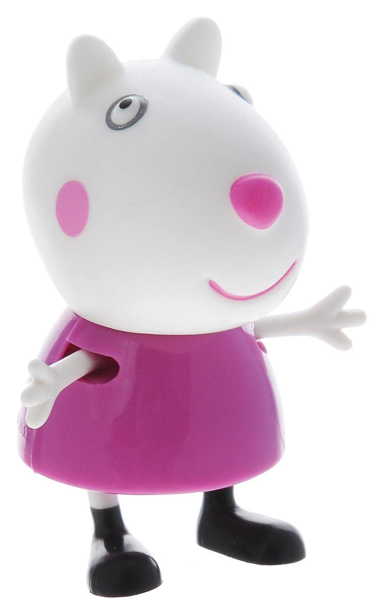 Peppa Pig Фигурка Любимый персонаж. Овечка15555_овечкаФигурка Peppa Pig Любимый персонаж. Овечка, созданная по мотивам мультсериала Peppa Pig, привлечет внимание вашего малыша и станет для него любимой игрушкой, он будет часами играть с фигуркой, придумывая различные истории с участием любимого героя. Ручки и ножки фигурки подвижны. Игра с фигуркой разовьет воображение, мелкую моторику рук ребенка, поможет овладеть навыками общения и научит ролевым играм. Порадуйте его таким замечательным подарком!