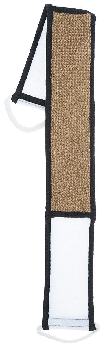 Мочалка Eva, из крапивы, с ручками, цвет: коричневый, черный, 70 см х 8 смМС-49_коричневыйМочалка Eva, выполненная из натуральной крапивы, имеет прочные и тонкие волокна. Хорошо пенится. Тонизирует и очищает кожу. Идеальна для профилактики и борьбы с целлюлитом. Подходит для всех типов кожи. Не вызывает аллергии.