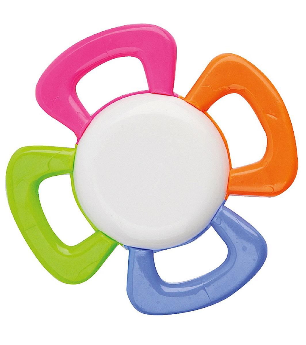 Курносики Погремушка Цветик семицветик23053Погремушка Курносики Цветик-семицветик - легкая игрушка, которую удобно держать в маленьких ручках. Отлично подходит в качестве первой погремушки. Погремушка изготовлена в виде белого цветка с четырьмя разноцветными листочками. Развивает слух, мелкую моторику, мышление, концентрацию внимания и цветовое восприятие.