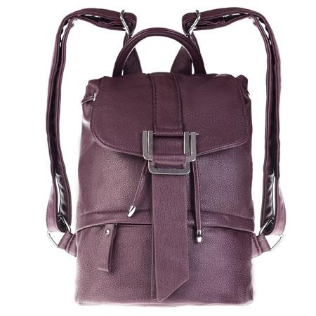 Рюкзак женский Ors Oro, цвет: бордовый. D-137