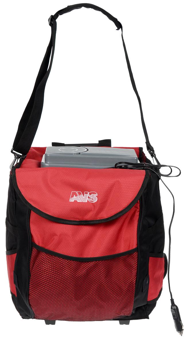Сумка-холодильник AVS CB-32A, 51 см х 37 см х 23 смA80539SСумка-холодильник AVS CB-32А обладает всеми свойствами термосумки. Высококачественная плотная полиэтиленовая пена обеспечивает термоизоляцию. Оснащена дополнительными боковыми карманами. Рекомендуется использовать с аккумуляторами холода AVS. Принцип работы по эффекту Пельтье. В сумке-холодильнике используется PEVA - экологически чистая пленка, выполненная из растительного сырья, которая не содержит тяжелых металлов и не влияет на окружающую среду, и в том числе на находящиеся в ней продукты. Покупая сумку с такой пленкой, вы заботитесь не только о своих продуктах, но и о природе. Максимальное охлаждение: 10-12°С ниже температуры окружающей среды (не ниже +5°С). Объем: 32 л. Потребляемая мощность: 48 Вт/4,2 А. Вес: 3,5 кг.