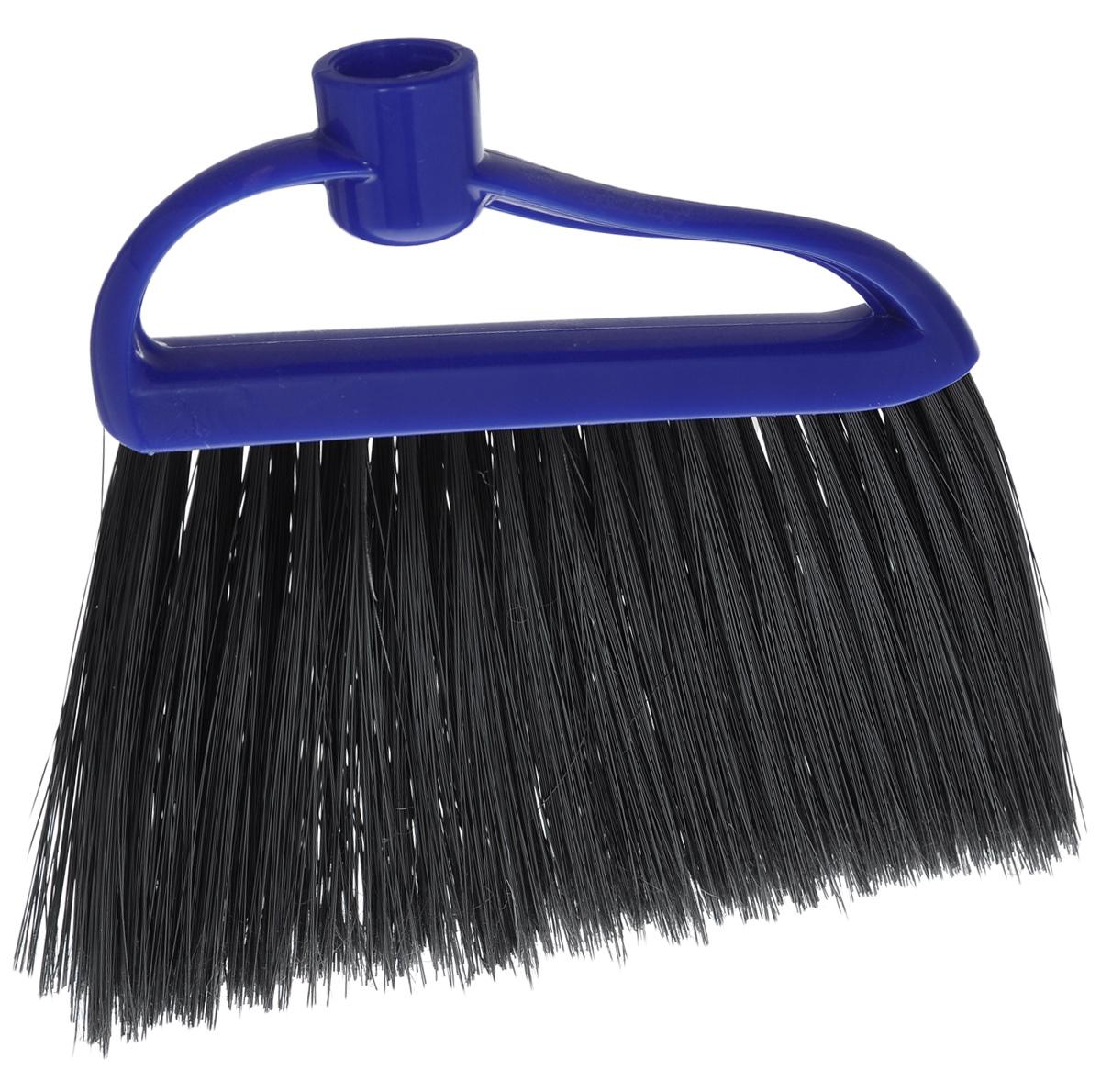 Щетка-метелка для пола Альтернатива, мягкая, без черенка, цвет: синий, черныйМ934_синийЩетка Альтернатива выполнена из прочного пластика, ворс из полимера. Она предназначена для уборки сухого мусора. Мягкий ворс щетки позволяет собрать мусор из самых труднодоступных мест. Длина ворса: 13,5 см.