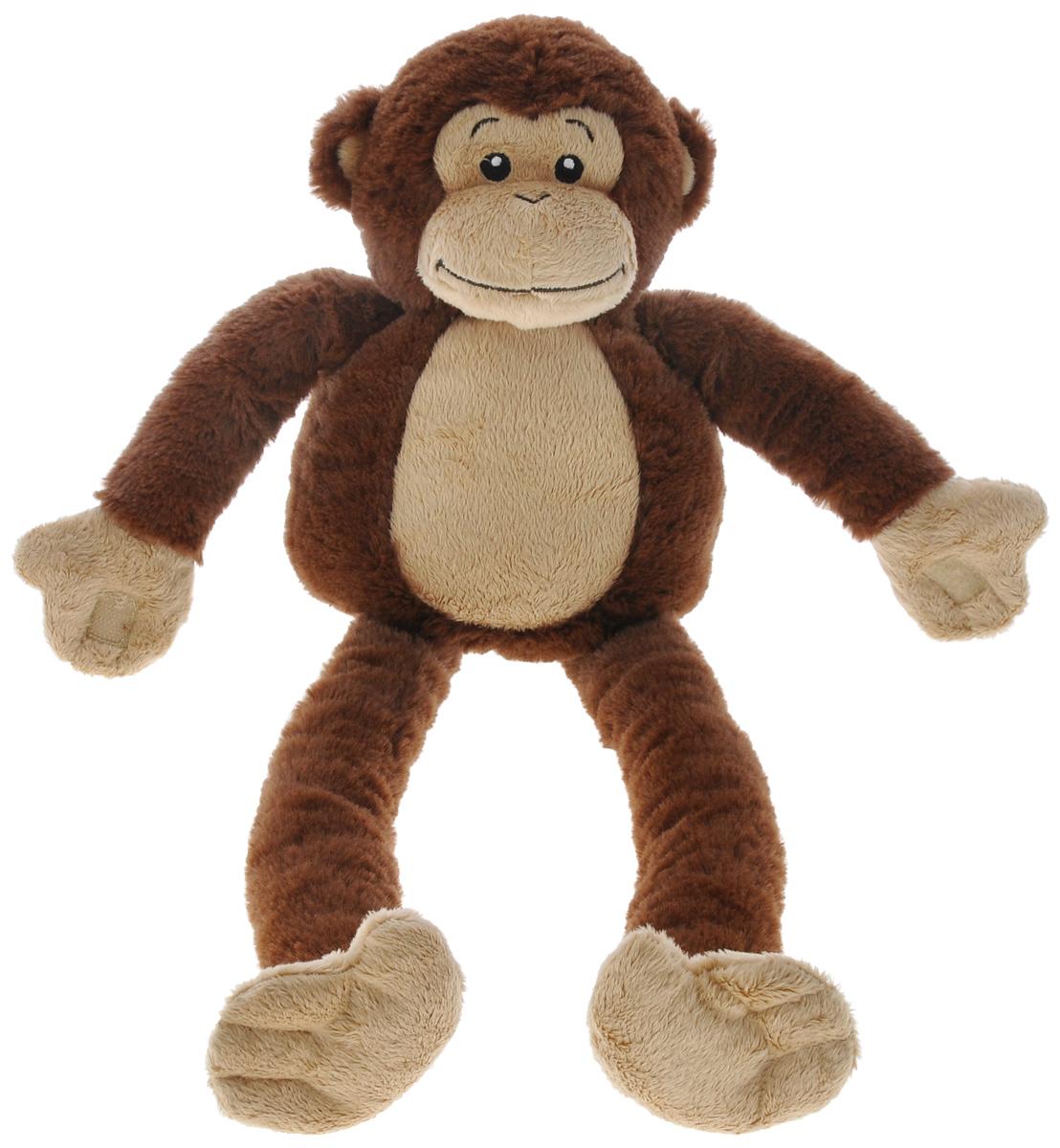 Cloud B Мягкая музыкальная игрушка Забавная Обезьянка7414 -ZZ -RUМузыкальная игрушка Забавная Обезьянка поможет родителям даже глубокой ночью. Игрушка выполнена в виде симпатичной мягкой обезьянки. Передние лапки у обезьянки на липучках. К игрушке прилагается музыкальное устройство. Игрушка легко крепится к кроватке или коляске с помощью специальной петельки-липучки. Музыкальный блок управления помещается внутрь корпуса обезьянки и легко вынимается. Игрушка оснащена таймером: автоматически выключается после 23 или 45 минут работы. 4 звука: Лесной ручеек. Смех обезьянки. Водопад. Колыбельная. Питание от 2 батареек типа АА (в наборе).