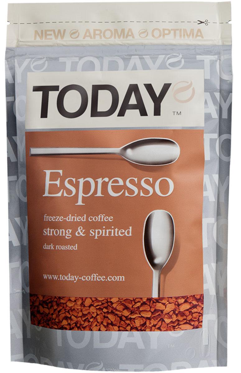Today Espresso кофе растворимый, 75 г