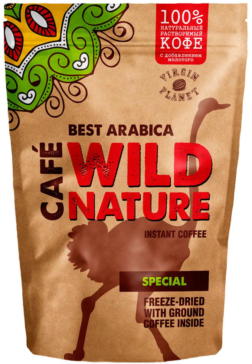 Wild Nature Special кофе растворимый, 75 г
