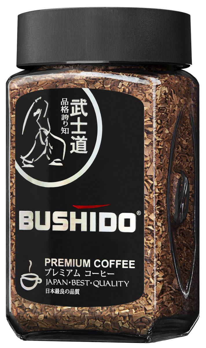 Bushido Black Katana кофе растворимый, 50 г7610121710349Кофе Bushido Black Katana обладает плотным терпким вкусом с хорошо сбалансированным горьковатым послевкусием и неповторимыми нотками темного шоколада.