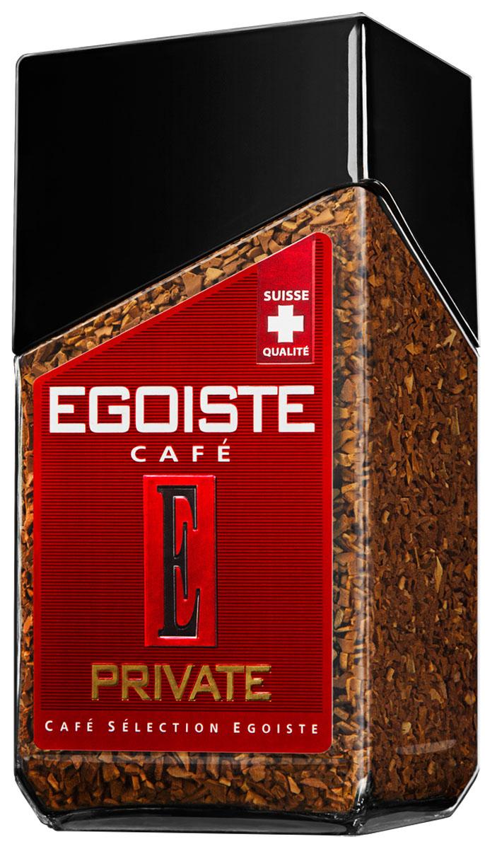 Egoiste Private кофе растворимый, 100 г7610121710509Сочетание отборных зерен смеси Veracruz и Колумбийской арабики делает вкус кофе Egoiste Private бархатным и ароматным, напоминающим шоколад.