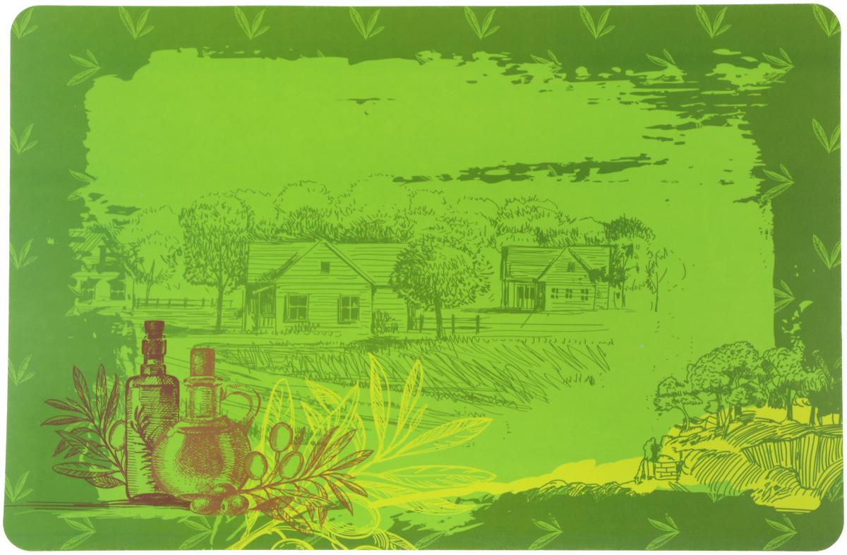 Термосалфетка Home Queen Оливки, 43 х 28 см57452_оливкиТермосалфетка Home Queen Оливки, изготовленная из полипропилена, прекрасно подойдет для сервировки стола. Салфетка декорирована красочным изображением. Поверхность глянцевая. Термосалфетки защищают поверхность стола от воздействия температур, влаги и загрязнений. Могут использоваться для детского творчества (рисования, лепки из пластилина) в качестве защитного покрытия, а также как подставки под вазы, кухонные приборы и другое. Стильный дизайн красиво дополнит интерьер помещения.