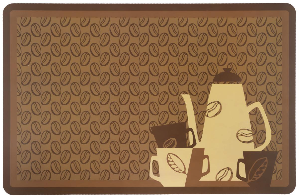 Термосалфетка Home Queen Кофейный набор, 43 см х 28 см57452_коричневыйТермосалфетка Home Queen Кофейный набор, изготовленная из полипропилена, прекрасно подойдет для сервировки стола. Салфетка декорирована изображением кофейного набора. Поверхность матовая. Термосалфетки защищают поверхность стола от воздействия температур, влаги и загрязнений. Могут использоваться для детского творчества (рисования, лепки из пластилина) в качестве защитного покрытия, а также как подставки под вазы, кухонные приборы и другое. Стильный дизайн красиво дополнит интерьер помещения.
