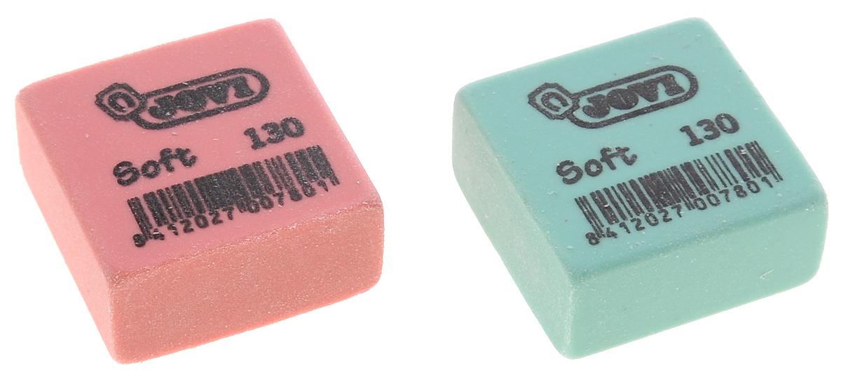 Baramba Набор ластиков Soft, с раскраской, 2 шт, цвет: розовый, зеленыйB01302 розовый, зеленыйЛастики Baramba идеально подходят для применения как в школе, так и в офисе. Обеспечивают высокое качество коррекции, не повреждают поверхность бумаги, даже при сильном трении, не оставляют следов. Изготовлены из высококачественного полимерного материала, содержащего особые капсулы dust free. Абсолютно безопасны, не токсичны и экологичны. Рекомендовано для детей старше 3-х лет.