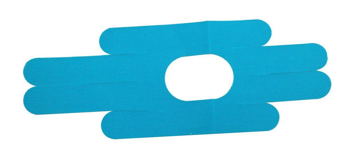 Лента кинезиологическая для колена Lite Weights, цвет: голубой, 2 шт1214LWКинезиологическая лента Lite Weights предназначена для защиты мышц колена от растяжений во время занятий спортом. Специальная хлопковая лента, не содержащая латекс, с акриловым термоактивным покрытием, аналогичная по эластичности человеческой коже, которая накладывается по методу кинезиологического тейпирования. Тейп обеспечивает адекватную работу мышц, протекание саногенетических процессов, уменьшая болевой эффект, при этом не ограничивая движений, улучшая крово- и лимфоток, обладая гипоаллергенными свойствами и полной воздухо- и влагопроницаемостью, позволяет использовать его на протяжении 5 дней, 24 часа в сутки, даже в воде. Преимущества кинезиологической ленты: позволяет снизить нагрузку на определенные мышцы; обеспечивает плавный процесс восстановления после травм; усиливает кровообращение на участке наклеивания; улучшает снабжение мышц кислородом; уменьшает болевой синдром и отечность; размер ленты: 15 см х 40 см; ускоряет заживление ран...