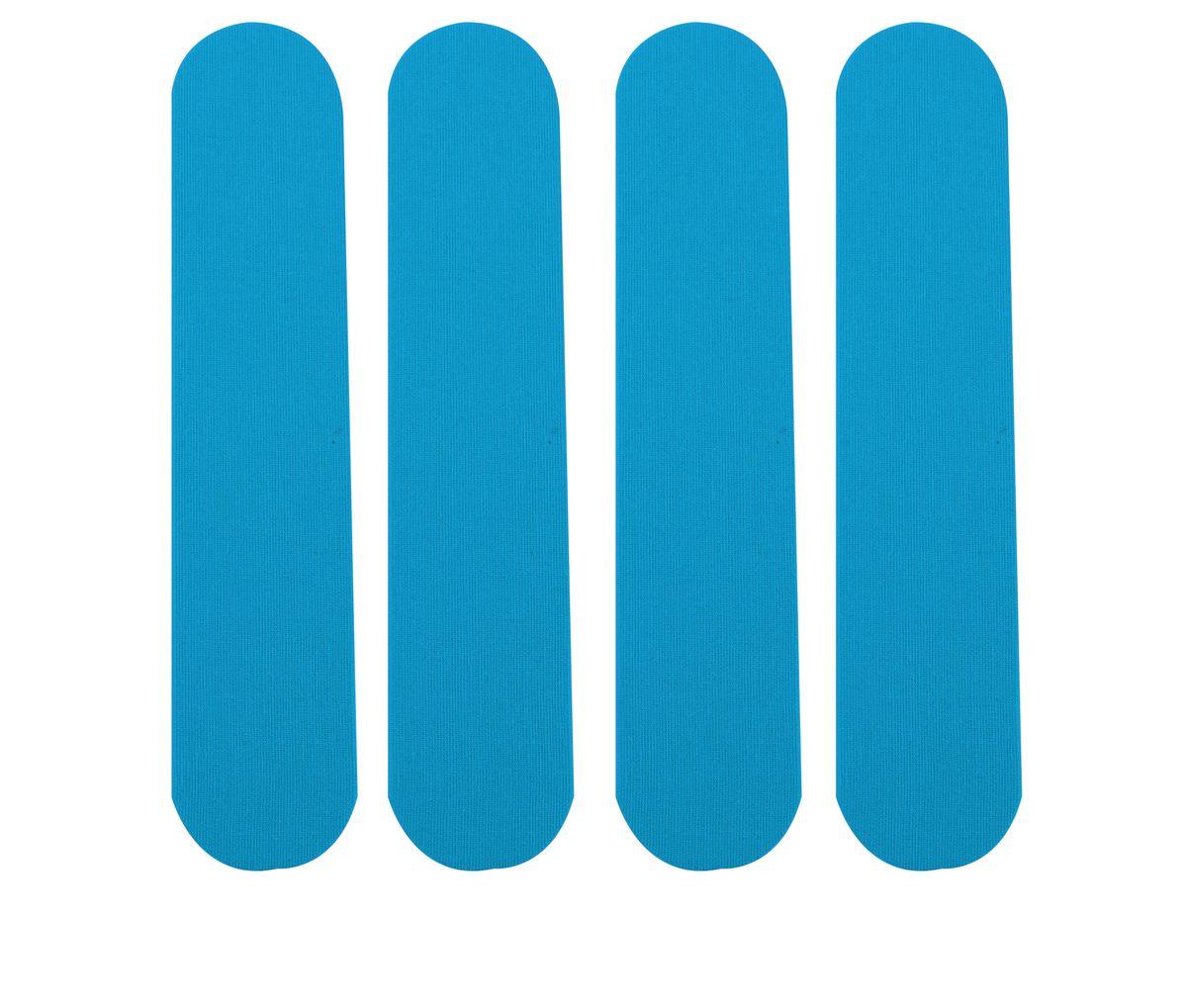 Лента кинезиологическая для запястья Lite Weights, цвет: голубой, 4 шт1216LWЛента кинезиологическая Lite Weights предназначена для защиты мышц запястий от растяжений во время занятий спортом. Специальные хлопковые ленты, не содержащие латекс, с акриловым термоактивным покрытием, аналогичные по эластичности человеческой коже, которые накладываются по методу кинезиологического тейпирования. Тейпы обеспечивают адекватную работу мышц, протекание саногенетических процессов, уменьшая болевой эффект, при этом не ограничивая движений, улучшая крово- и лимфоток, обладая гипоаллергенными свойствами и полной воздухо- и влагопроницаемостью, позволяет использовать их на протяжении 5 дней, 24 часа в сутки, даже в воде. Преимущества кинезиологической ленты: позволяет снизить нагрузку на определенные мышцы; обеспечивает плавный процесс восстановления после травм; усиливает кровообращение на участке наклеивания; улучшает снабжение мышц кислородом; уменьшает болевой синдром и отечность; размер одной ленты: 25 см х 5 см; ускоряет...