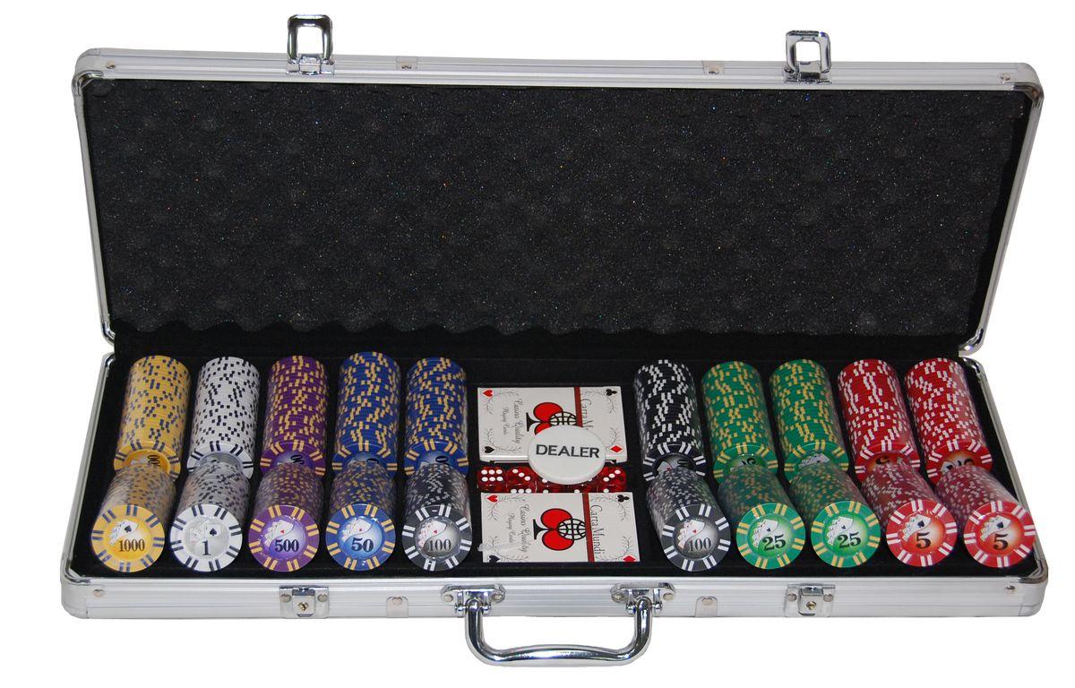 Дипломат для покера на 500 фишек с номиналом, размер: 60х21х8см. ГД4/500ГД4/500Дипломат для покера на 500 фишек с номиналом
