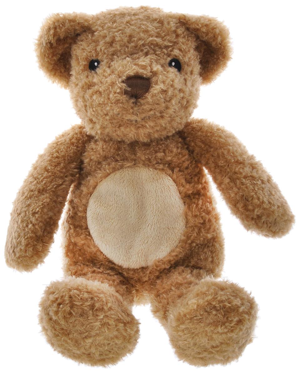 Cloud B Мягкая игрушка Медвежонок-обнимашка, с подсветкой7406-ZZ-RUМягкая игрушка Медвежонок-обнимашка станет незаменимым другом вашему малышу. Этот плюшевый компаньон совмещает зрительную и осязательную составляющие, помогая навеять самую сонную дрему. Легкое объятие активирует встроенный сенсор, и милый мишка начинает излучать убаюкивающий свет и воспроизводить умиротворяющий ритм сердцебиения! Сенсорный блок легко вынимается и вставляется внутрь игрушки. Автоматическое отключение сердцебиения через 10 минут, подсветки - через 23 минуты. Питание от 3 батареек типа АА (в наборе).